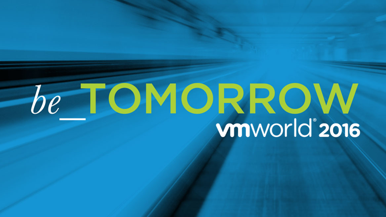 VMworld Europe 2016 Thursday