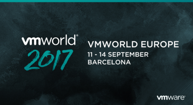 VMworld Europe 2017 Wednesday